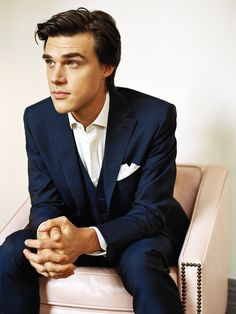 Finn Wittrock aka Dandy from AHS. Giving Evan Peters a run for his money.... My God