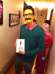 Pin for Later: 67 Wildly Creative DIY Costumes For Men Flanders This Flanders costume by Twitter user bobbieinfo is one of the best we've seen. Source: Reddit user Tubbsie via Imgur