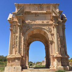 Leptis Magna, Libya.