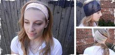 Stretch Lace Headband/Scarf! at VeryJane.com  P.S. my friend is a model! :)