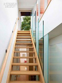 Pioneer Spirit: A Renovation in an Up-and-Coming Toronto Neighborhood #design #interiordesign #interiordesignmagazine #architecture #staircase #wood