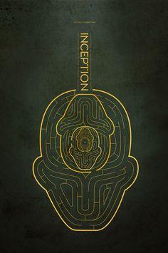 48 Minimal Movie Poster Designs