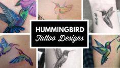 TattooBlend | Hummingbird Tattoo Designs