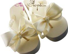Bride Bridal Wedding Flip Flops Swarovski by BridalFlipFlops Wedding Flip Flops, Swarovski, Place Card Holders, Bride, Trending Outfits, Unique Jewelry, Handmade Gifts, Cards, Diy