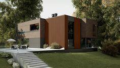 #Brick #wood #vacationhouse