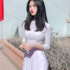 Jay Gatsby, Ao Dai Vietnam, Wet Dreams, Beautiful Girl Photo, Girl Photos, Pretty Girls, Cool Pictures, Mac, Tulle