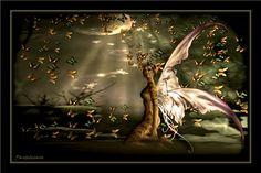 """""""Dream of the butterflies"""" #secondlife #art #digital-art"""