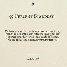 93% Stardust.