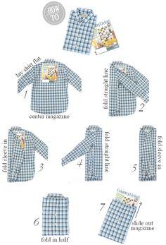 How To | Fold A Shirt Like a Pro — IRON & TWINE