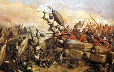 Defending the Biscuit Box Wall at Rorke's Drift Zulu War 22nd January 1879