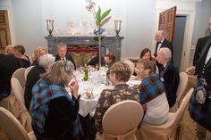 Clan Home Gathering in the ballroom, Wedderburn Castle – Wilhite Photography