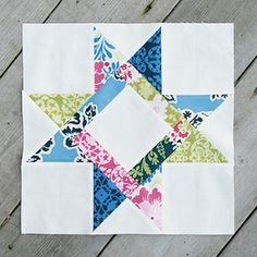 Star quilt patterns are perfect for the holidays!