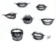 Lips by ~maga-a7x on deviantART