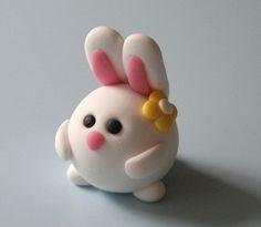 Very simple Fondant Bunny