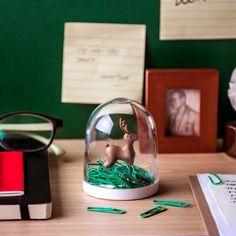 Büroklammernspender 'Deer in the forest' online kaufen | Geschenke.de Online Shop