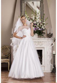 Wedding Dresses Julia Gastoł 1421 Jasmine Pretty Flower Girl Dresses, Rustic Wedding, Wedding Ideas, One Shoulder Wedding Dress, Ball Gowns, Tulle, Girls Dresses, Wedding Dresses, Gown Wedding