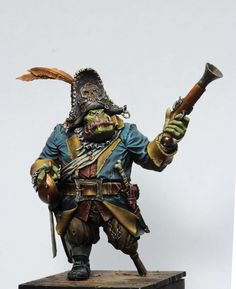 Black Sailors- Pirates, Orcs, Fantasy Miniatures! by Legion of the Cow LTD — Kickstarter