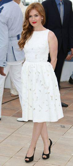 Isla Fisher // Cannes 2013 - Dolce  Gabbana.