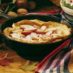 German Apple Pancake Recipe Recipe