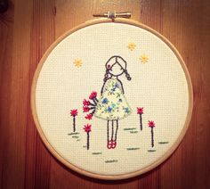 Embroidery, applique, with thanks to Lili_popo for inspiration!.....
