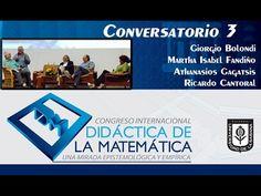 Conversatorio 3. Día 3 Congreso Didáctica de la Matemática
