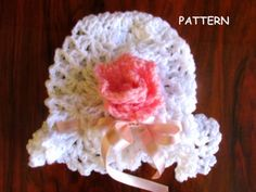 Hat pattern crochet pattern instant download Baby by Justpattern