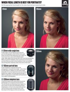 What is the best focal length for portraits?