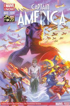 Captain America #22 (Ross 75th Anniversary Variant)