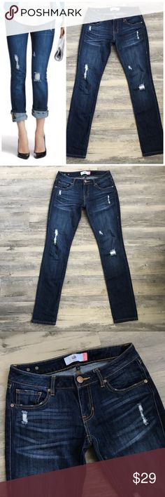 🆕Cabi Slim Boyfriend Jeans Cabi Slim Boyfriend Jeans Jeans are gorgeous! In great pre-loved condition  Legs can be cuffed or left as is Size is a 0 5th photo shows wear on the hems CAbi Jeans Boyfriend