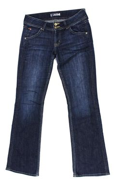 Hudson 29 Women's Jeans Signature Bootcut Elm Dark Blue 29x31 Nice! #HUDSON #BootCut $39.99 #FREESHIPPING
