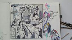 Sketch of my artwork :-) #scketchbook #sketch #myworld #umenienaslovensku #lujmari