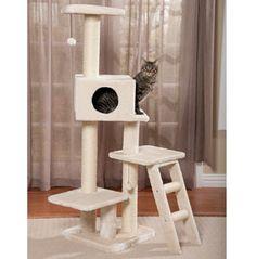 PetPals Fleece Cat Condo