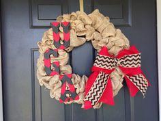 UGA wreath.