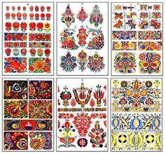 Hungarian Embroidery, Folk Embroidery, Embroidery Patterns, Folklore, Mandala, Scandinavian Folk Art, Motif Floral, Tole Painting, Chain Stitch
