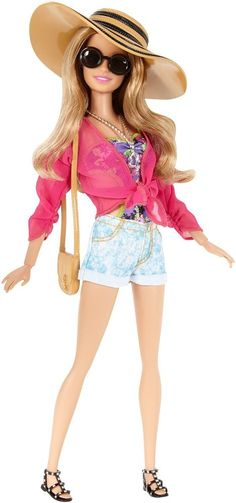 NEW! 2015 Barbie Style Resort Doll