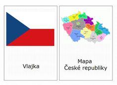 Symboly Česka - kartičky – (Mujblog.info v3.1) Czech Republic, Geography, Preschool, Science, Blog, Prague, Milan, Travel, Viajes