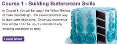 Wilton Cake Decorating Classes: Sign Up For Wilton Method Courses or Classes from The Wilton Cake Decorating School