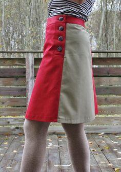 Skirt with buttons / Nööpidega seelik