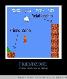 Friendzone falling lower (Mario)