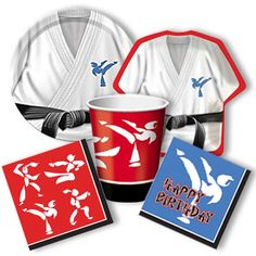 Karate Party Supplies from www.DiscountPartySupplies.com