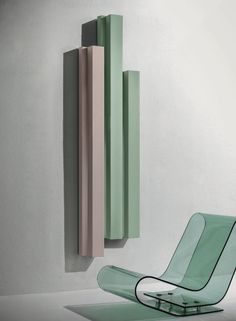 Hot-water vertical aluminium decorative radiator Rift Elements Collection by Tubes Radiatori design Ludovica Roberto Palomba, Matteo Fiorini Bathroom Interior Design, Interior Decorating, Decorative Radiators, Vertical Radiators, Architecture Design, Design Salon, Studio Design, Designer Radiator, Style Deco