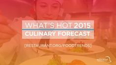 Sustainability tops trends on 2015 What's Hot survey | National Restaurant Association