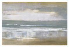 Framed Shoreline Print