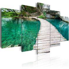 Obraz - Turkusowe jezioro