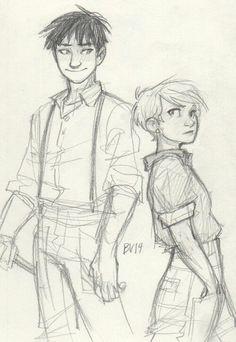 Burdge . Character Sketch / Drawing Illustration Inspiration