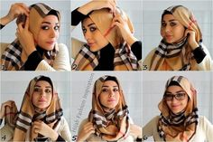 This is a hijab tutorial showing how you can wear hijab with glasses, sometimes the frame of glasses makes it hard to keep the hijab lined from the front but this is a great way to keep your hijab stylish…