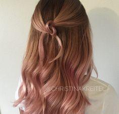 Rosy brunette by Christina Kreitel