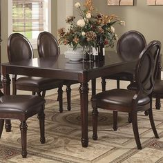 Davina Dining Oval Back Side Chair with Turned Legs