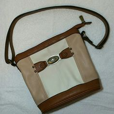 $22 BUNDLED!!! B.O.C. Crossbody Purse Beautiful condition.  Long strap that can be fully  adjusted. Tan, cream, and brown B.O.C. Bags