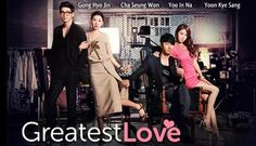 The Greatest Love. This is the latest drama I have seen. I love the story. Cha Seung-Won is so hot in here. I can't imagine he's in his Gong Hyo-Jin never fails to amaze me with her acting. This romantic comedy series is a must watch! Top Korean Dramas, Korean Drama Movies, Korean Actors, Gong Hyo Jin, Cha Seung Won, Yoo In Na, Drama Fever, Watch Full Episodes, Celebrity